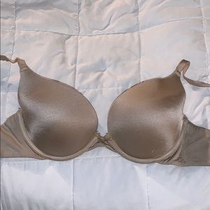 "Aerie ""Brooke"" Bra- lightly lined nude bra"